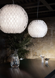 Charlotte Globe Suspension Slamp design contemporain Caen