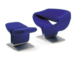 Fauteuil RIBBON Pierre Paulin Design Contemporain Caen