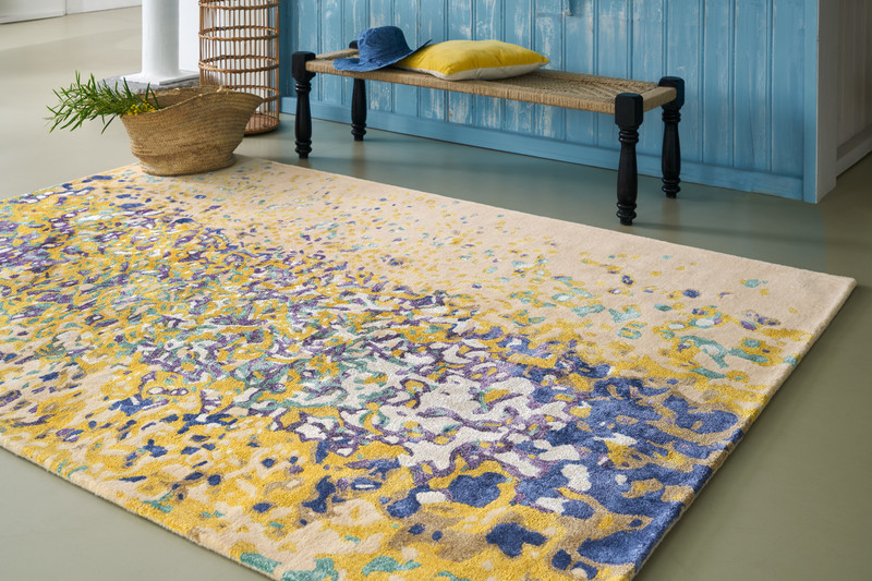 luminous tapis serge lesage espace steiner design contemporain. Black Bedroom Furniture Sets. Home Design Ideas