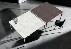 Table Slim Carrée Sovet Design Contemporain Caen