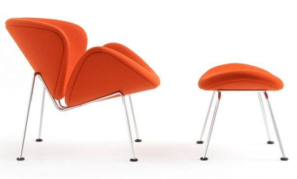 Fauteuil ORANGE SLICE Artifort Espace STEINER Design Contemporain - Fauteuil orange