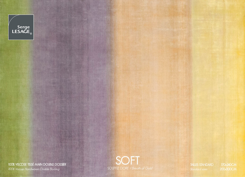 soft tapis serge lesage espace steiner design contemporain. Black Bedroom Furniture Sets. Home Design Ideas