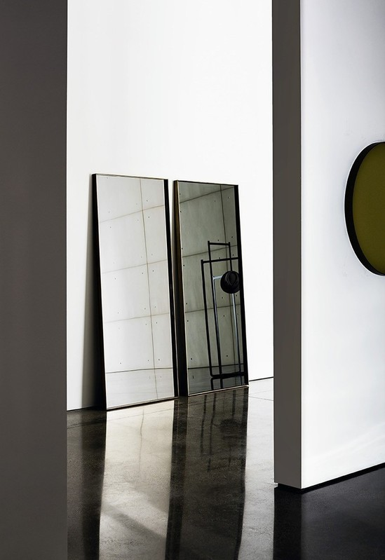 VISUAL RECTANGULAR MIROIR 190 X 80 cm