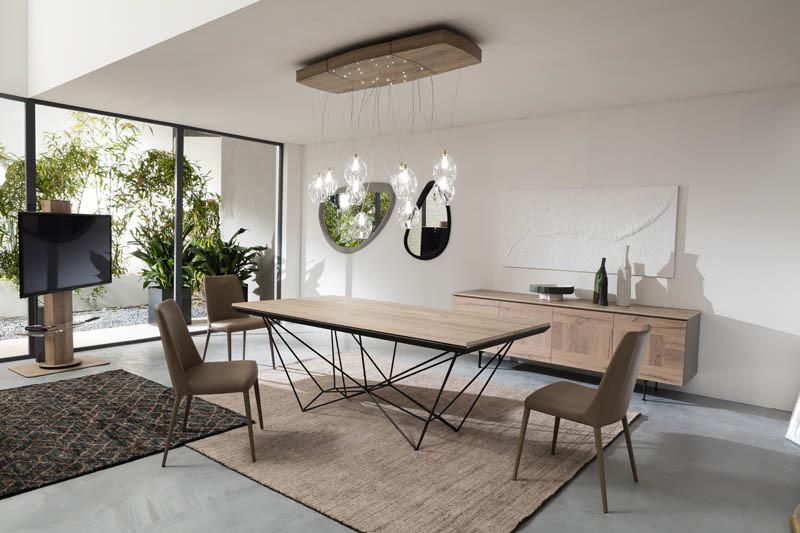 Fil8 Contemporain Table Steiner Extensible Ozzio Design Espace I7Ygbymf6v