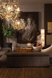 FIORELLA  Suspension  Gold Silver and Copper SLAMP Design Contemporain Caen