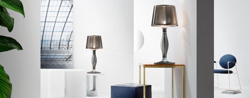 liza lampe poser slamp espace steiner design contemporain. Black Bedroom Furniture Sets. Home Design Ideas