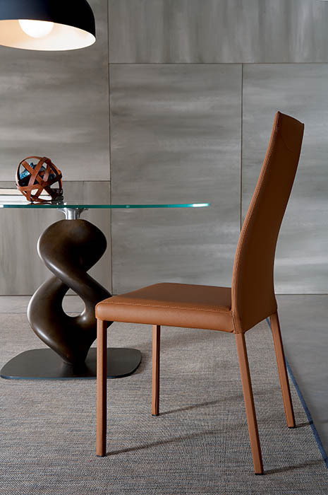 chaise blitz ozzio espace steiner design contemporain. Black Bedroom Furniture Sets. Home Design Ideas