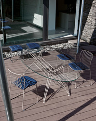 TABLE OVALE OutSANDERS OUTDOOR Bontempi Casa Design Contemporain Caen