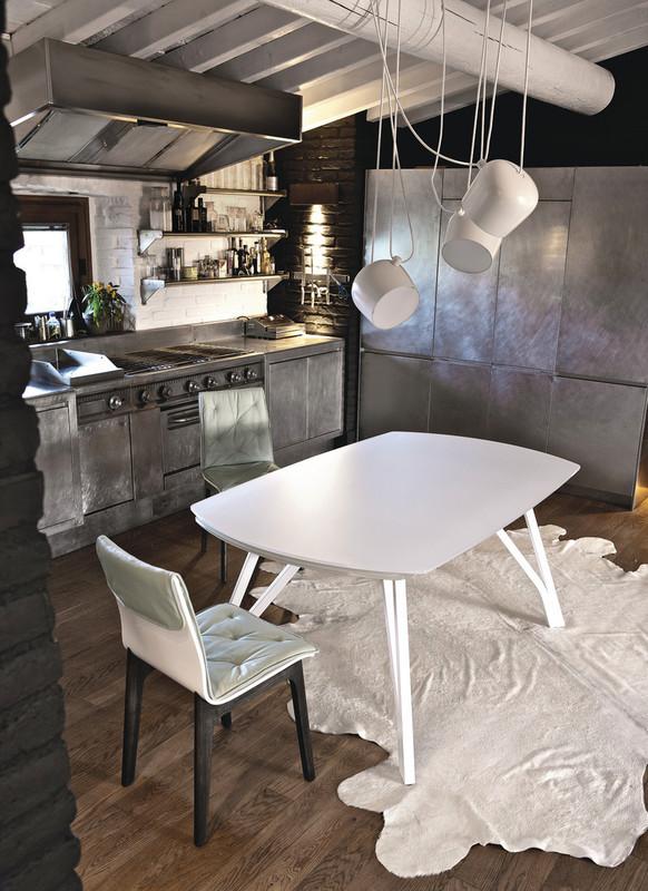 table av allonge wonder ozzio espace steiner design contemporain. Black Bedroom Furniture Sets. Home Design Ideas