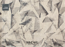 WINDWILL Tapis Serge Lesage Design Contemporain Caen
