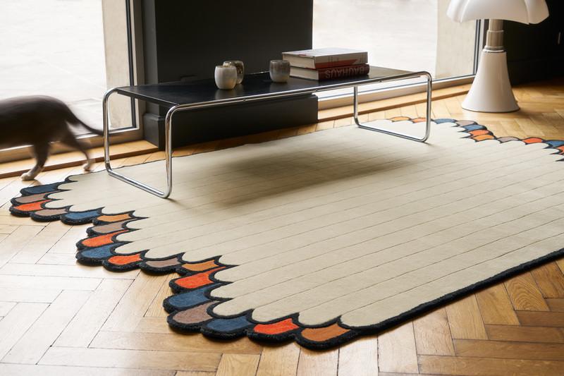 party tapis serge lesage espace steiner design contemporain. Black Bedroom Furniture Sets. Home Design Ideas