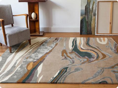 fiction tapis serge lesage espace steiner design contemporain. Black Bedroom Furniture Sets. Home Design Ideas