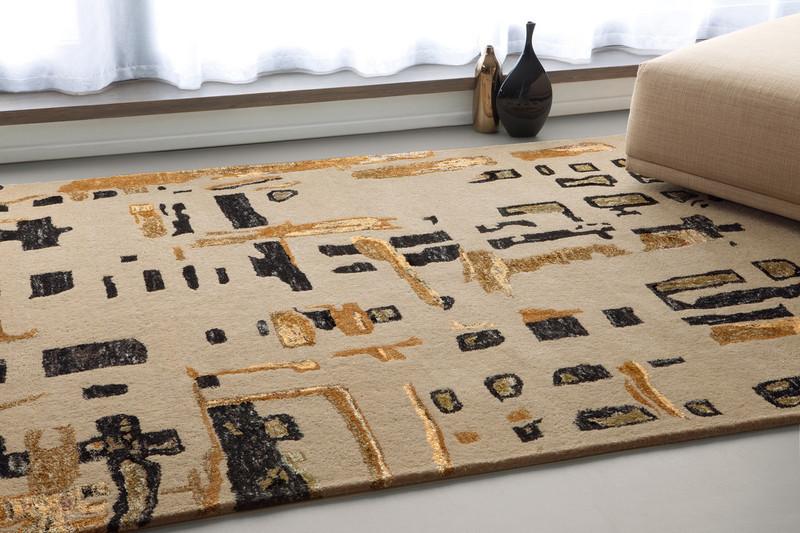 folk tapis serge lesage espace steiner design contemporain. Black Bedroom Furniture Sets. Home Design Ideas