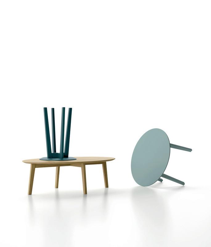 table basse zoe dall agnese espace steiner design. Black Bedroom Furniture Sets. Home Design Ideas