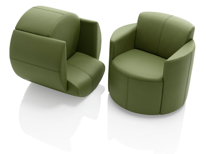 Fauteuil BAGATELLE Steiner Espace STEINER Design Contemporain