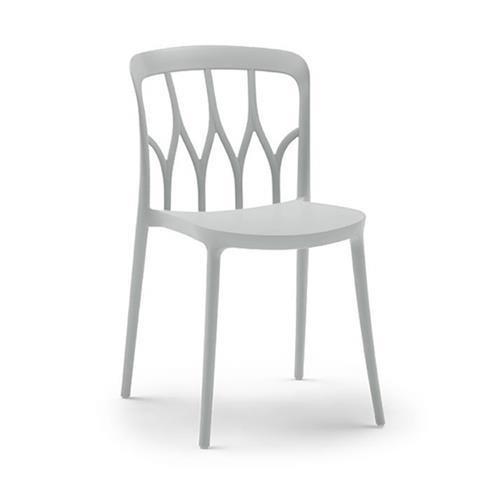 chaise galaxy blanc bontempi casa espace steiner design contemporain. Black Bedroom Furniture Sets. Home Design Ideas